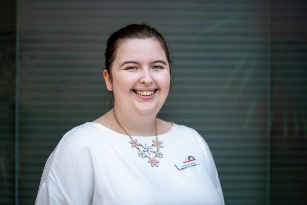 Christina, Auszubildende der Kreisverwaltung Dithmarschen