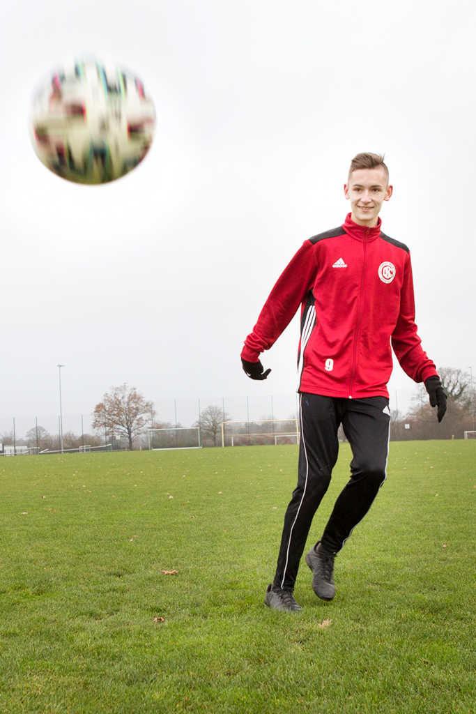 GSC Nachwuchsfußballer Julius