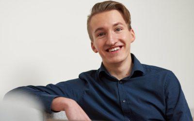 Fabian, Bundesbester Azubi bei der GMSH, einem Schleswig-Holsteiner Unternehmen